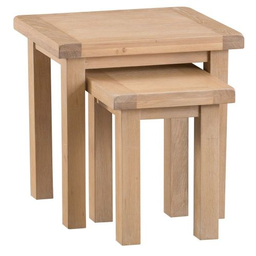 Oakham Washed Nest of 2 Tables